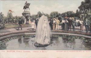 Massachusetts Boston Public Gardens Venus At Bath