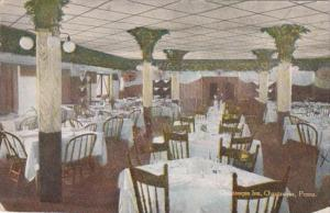 Pennsylvania Chautauqua Dining Room Chautauqua Inn 1913