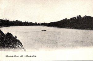 Indiana Terre Haute Scene On The Wabash River