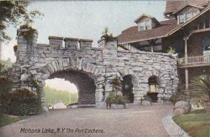 New York Mohonk Lake Port Cochere