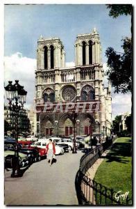 Paris Modern Postcard Notre Dame