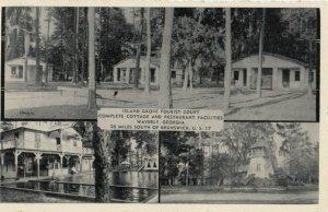 BRUNSWICK , Georgia ,1930s ; Island Grove Tourist Court