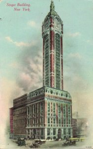 USA Singer Building New York Posted to Holland 03.04