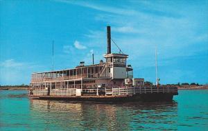 Louisiana Mississippi River Ferry Boat