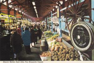 Historic Market, Saint John, New Brunswick, Canada, 50´s-70´s