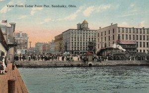 SANDUSKY, Ohio, 1900-10s; View from Cedar Point Pier