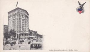 DETROIT, Michigan, 1900-1910s; Majestic Building, Woodward Avenue
