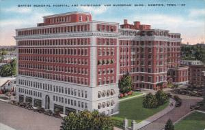MEMPHIS, Tennessee; Baptist Memorial Hospital and Physicians' and Surgeons' B...