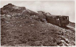 RP: Snowdon Summit Hotel & Train , UK , 1953