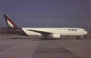 MALEV HUNGARIAN AIRLINES BOEING B-767-375-ER HA-LHC