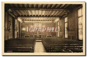Old Postcard Paris Ecole Massillon Quai des Celestins Chapel