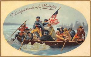 Political President Post Card Old Vintage Antique International Art Publishin...