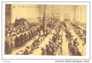 CHARLEROI, Belgium 00-10s  Universite du Travail, Dining hall