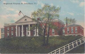 ST JOHNSBURY VT - BRIGHTLOOK HOSPITAL 1910s view / CLOSED - NOW APTS