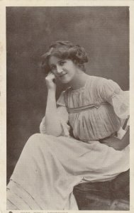 RP; Actress Miss Nina Sevening ,1910s ; TUCK