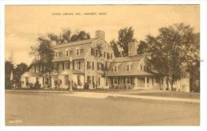 Jones Library Inc. , Amherst , Massachusetts, 20-30s