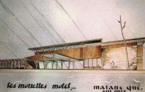 MATANE , Quebec , Canada , 1950-60s  , Les Molletes Motel