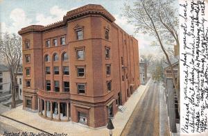 Portland MA~Jefferson Theatre at Free & Oak Sts~ Emile Weil 2907 Cassalina Perry