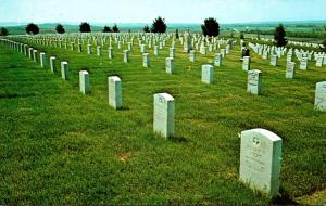 Montana Little Bighorn Battlefield National Monument Custer National Cemetery