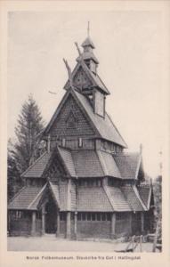 Norway Norsk Folkemuseum Stavkirke fra Got i Hallingdal