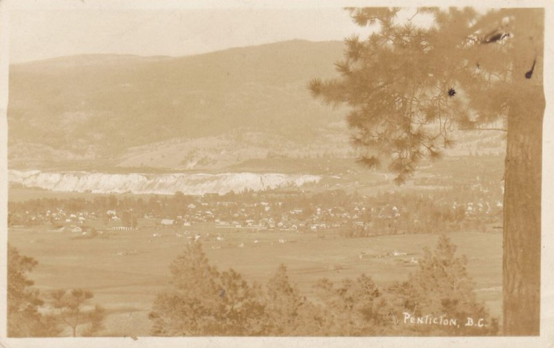 RP, Bird's-eye View of Penticton, British Columbia, Canada, PU-1929