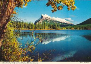 Canada Mount Rundle Banff National Park Alberta