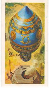 Trade Card Brooke Bond Tea History of Aviation black back reprint No 1