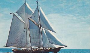 The Sailing Schooner,  Bluenose, II,  Nova Scotia,  Canada,  40-60s