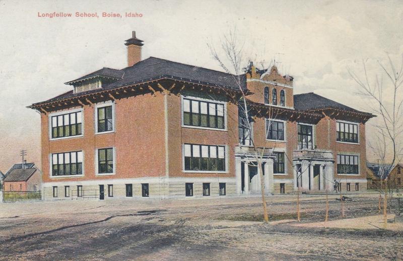 BOISE, Idaho, 1908 ; Longfellow School