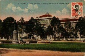 CPA AK INDOCHINA Saigon L'Hotel des Postes VIETNAM (957513)