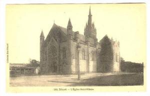 Niort , Deux-Sèvres department in western France. L'Eglise Saint-Hilaire, 00...