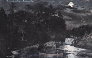Night Scene,Mattawabika Falls, Temagami,Ontario,Canada,00-10s