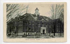 High School, Perry, New York, PU-1914