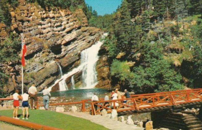 Canada Cameron Falls In Waterton Lakes National Park Alberta