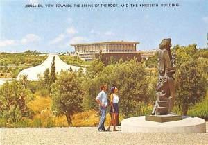Israel Jerusalem, View Towards The Shrine of the Book and The Knesseth