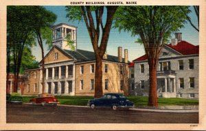 Maine Augusta County Buildings