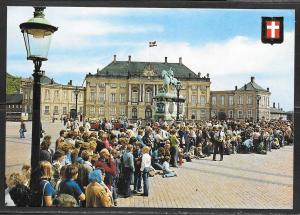 Denmark, Copenhagen, Amalienborg castle, unused