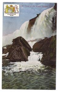 Niagara Falls Postcard Cave of the Winds Vintage NY