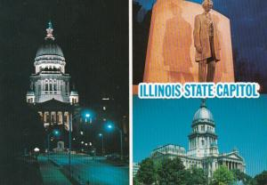 Illinois Sprinfield State Capitol Multi View