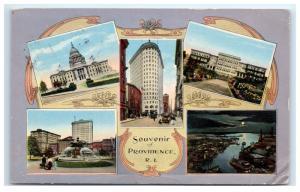 Postcard Souvenir of Providence, RI 1915 B28