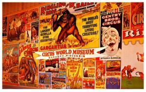 Wisconsin Baraboo, Circus World Museum , promises