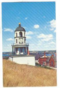 Old Town Clock On Citadel Hill, Halifax, Nova Scotia, Canada, 40-60s