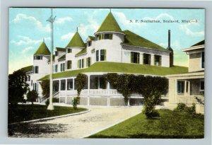 Brainerd MN-Minnesota, N P Sanitarium, Vintage Postcard