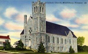 VT - Middlebury. Catholic Church