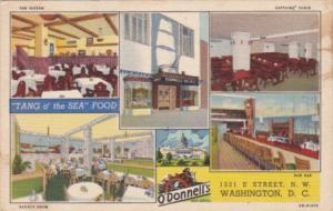 Washington D C O'Donnell's seafood Restaurant Curteich