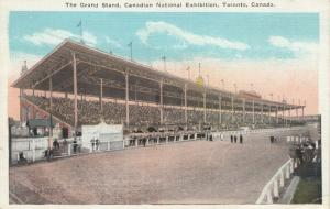 TORONTO , Ontario , Canada , 1900-10s ;  Horse Track Grand Stand , C.N.E.