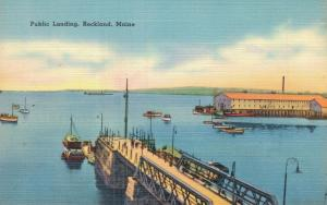 USA - Public Landing Rockland Maine 01.67