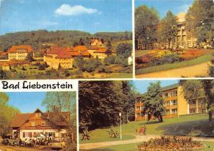 Bad Liebenstein Kurhhaus, Hubertushof, Heinrich Mann Sanatorium Terrace Panorama