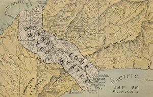 Panama Canal , 00-10s ; Map