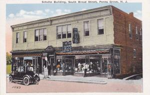 Schultz Building, South Broad Street, Penns Grove, New Jersey, 1910-1920s